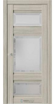 Межкомнатная дверь ChE 10 Вудекс Скальный стекло 4