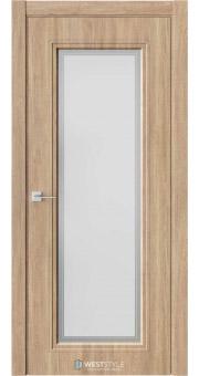 Межкомнатная дверь Eliss 2 Брандо стекло