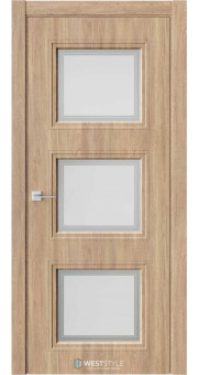 Межкомнатная дверь Eliss 6 Брандо стекло