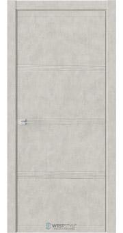 Межкомнатная дверь EVO 0D Бетон Смоки