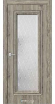 Межкомнатная дверь KB 2 Дуб Эссе стекло 2