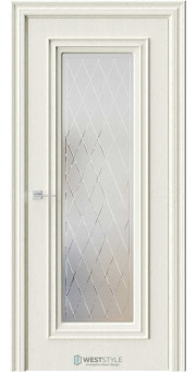 Межкомнатная дверь KB 2 Дуб Монтана стекло 2