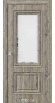Межкомнатная дверь KB 4 Дуб Эссе стекло 1