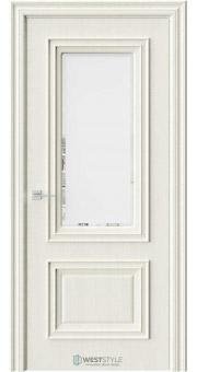 Межкомнатная дверь KB 4 Дуб Монтана стекло 1