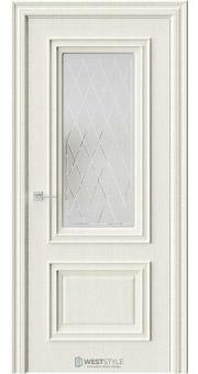 Межкомнатная дверь KB 4 Дуб Монтана стекло 2