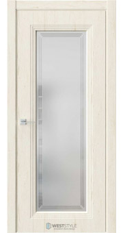 Межкомнатная дверь Monte 2 Дуб Джентл стекло