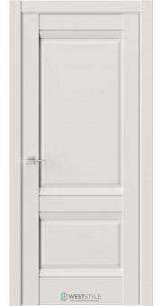 Межкомнатная дверь PL 10F Серая