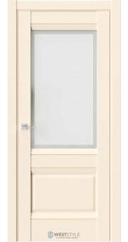 Межкомнатная дверь PL 11F Бежевая