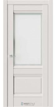 Межкомнатная дверь PL 11F Серая