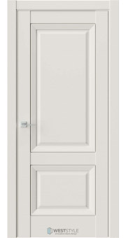 Межкомнатная дверь PL 3F Серая