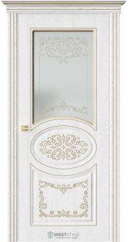 Межкомнатная дверь ПРЕЗИДЕНТ Дуб Винта стекло 1