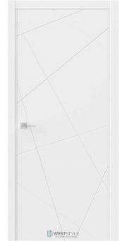 Межкомнатная дверь Prime P1 RAL9003