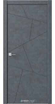 Межкомнатная дверь Prime P4 Бетон Маренго