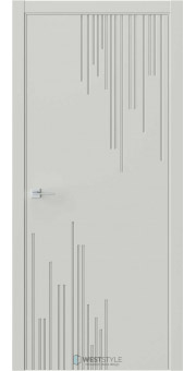 Межкомнатная дверь Prime P5 RAL7038