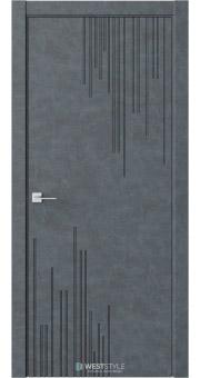 Межкомнатная дверь Prime P5 Бетон Маренго