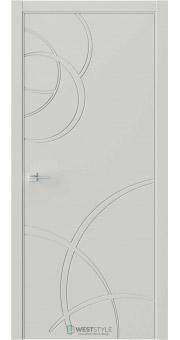 Межкомнатная дверь Prime P6 RAL7038