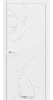 Межкомнатная дверь Prime P6 RAL9003