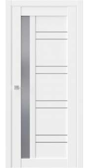 Межкомнатная дверь Межкомнатная дверь RE72 Emlayer белый Стекло графит