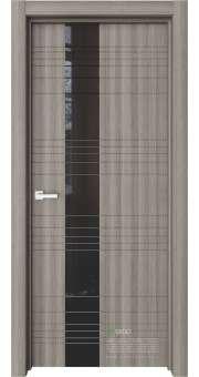 Межкомнатная дверь Межкомнатная дверь Ways W1 Керамик черное стекло