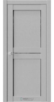 Межкомнатная дверь XC 1 Интенсо черное стекло