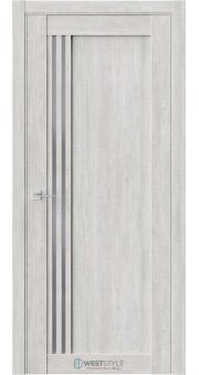 Межкомнатная дверь XC 4 Дуб Оксфорд стекло-графит