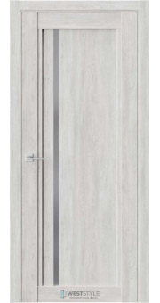 Межкомнатная дверь XC 5 Дуб Оксфорд стекло-графит