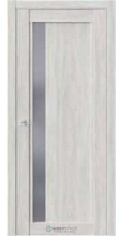 Межкомнатная дверь XC 6 Дуб Оксфорд стекло-графит
