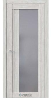 Межкомнатная дверь XC 7 Дуб Оксфорд стекло-графит