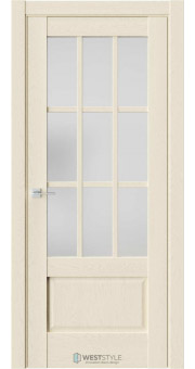 Межкомнатная дверь Z 6 Дуб Монтана стекло