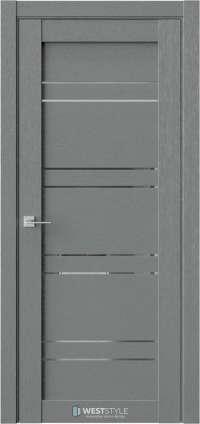 Межкомнатная дверь CZ 7 Сильвер стекло-зеркало