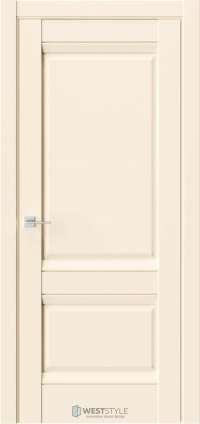 Межкомнатная дверь PL 10F Бежевая