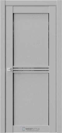 Межкомнатная дверь XC 2 Интенсо черное стекло