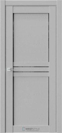 Межкомнатная дверь XC 3 Интенсо черное стекло