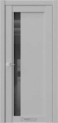 Межкомнатная дверь XC 6 Интенсо черное стекло