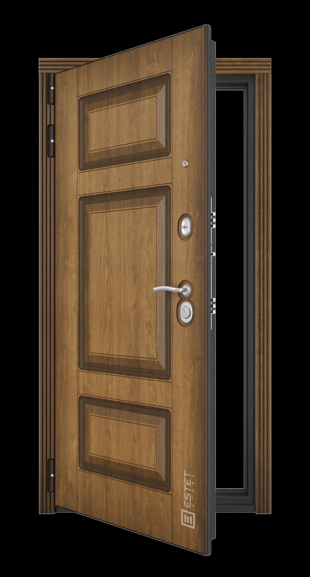 Входная дверь Флагман 15 с зеркалом