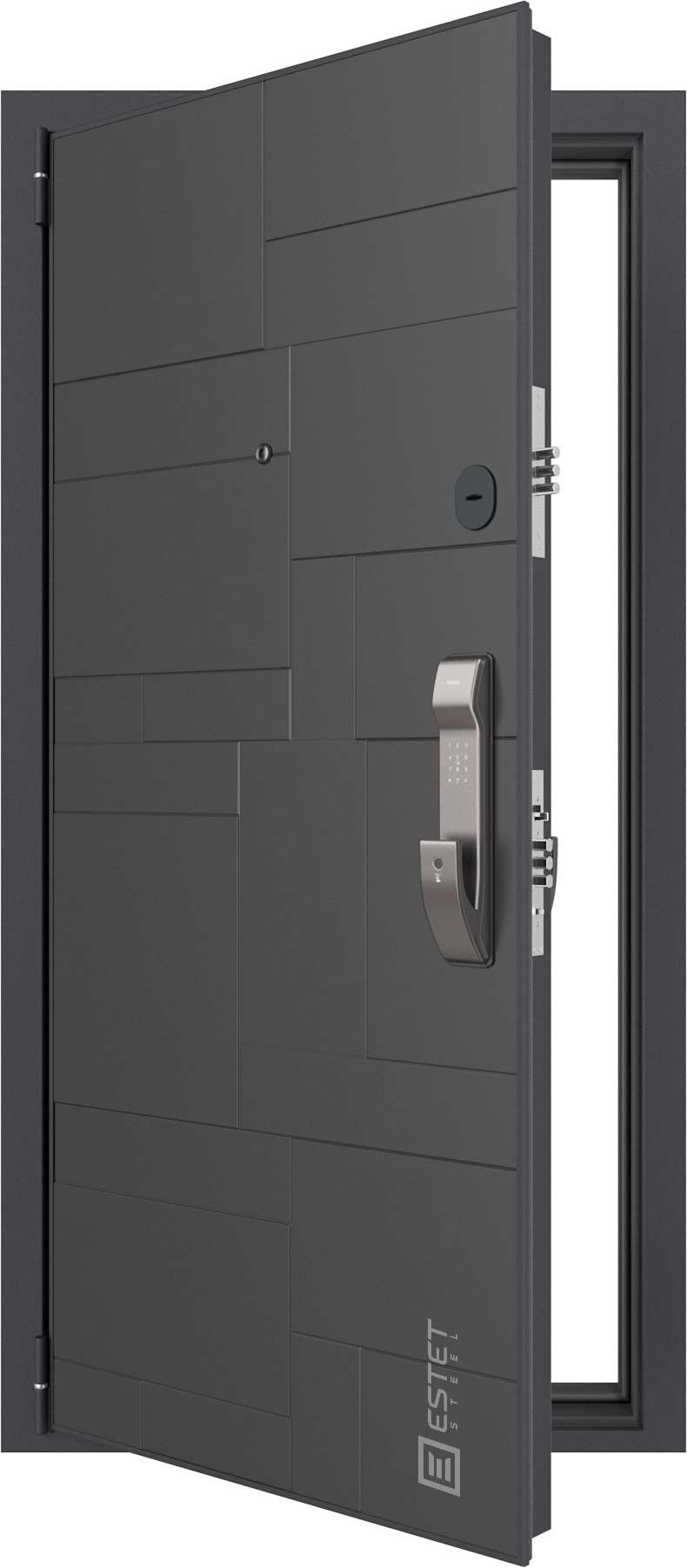 Входная дверь Дверь Лофт SMART 12.2 с электронным замком