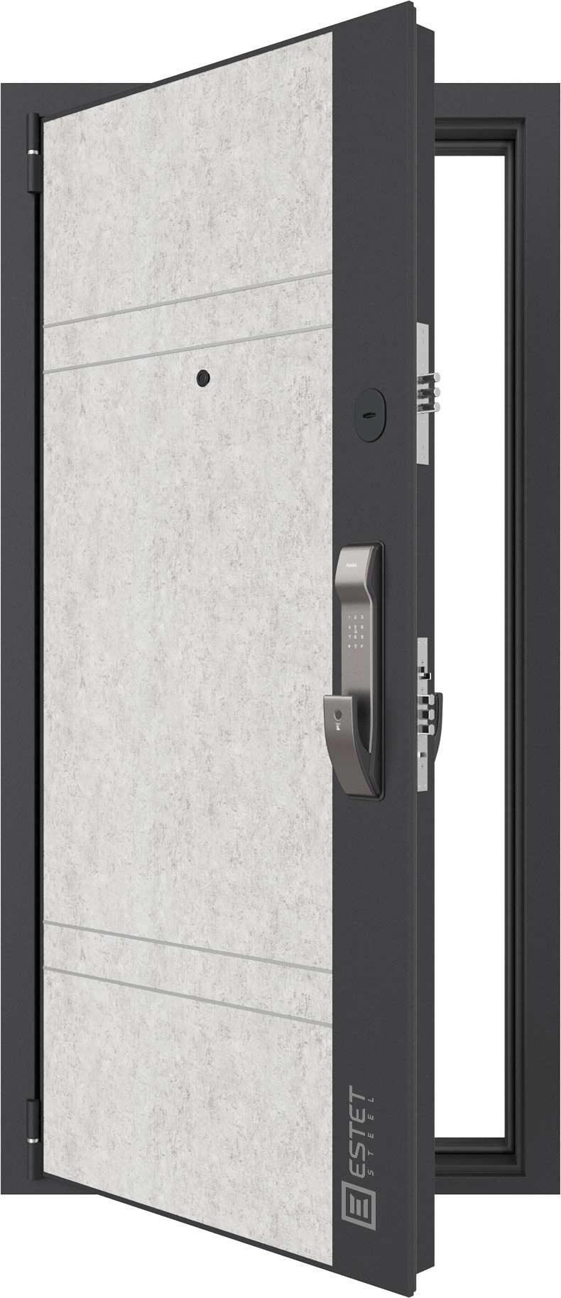 Входная дверь Дверь Лофт SMART 4.2 с электронным замком