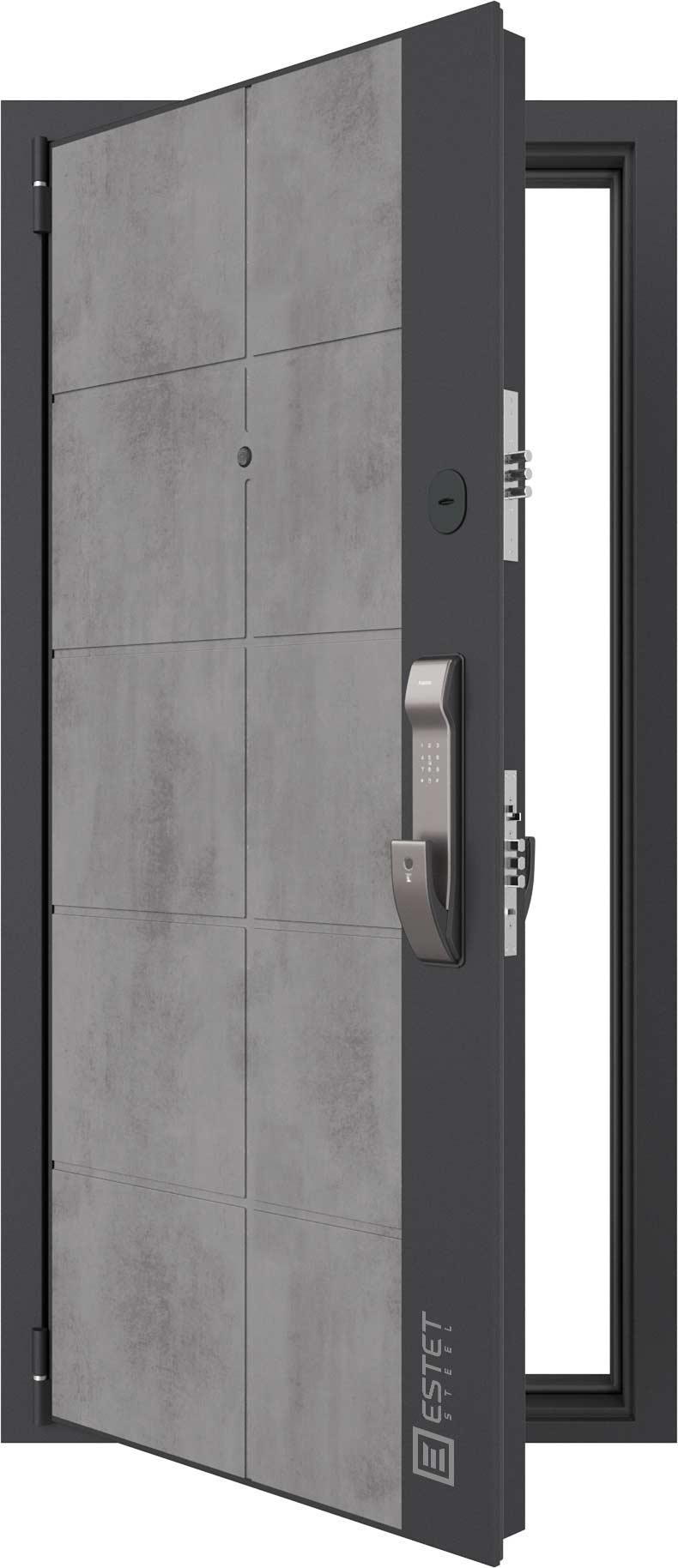 Входная дверь Дверь Лофт SMART 6.2 с электронным замком